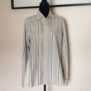 Permanent Vacation long Sleeve Button down shirt